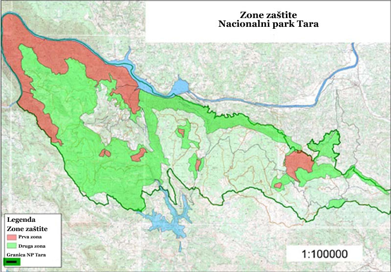 Afrika Nema Karta Reke.Nacionalni Park Tara Polozaj Proglasenje Nacionalnog Parka I Zone