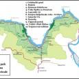 Nacionalni park Đerdap se nalazi u Karpatskim planinama u graničnom pojasu sa Rumunijom. Prostire se na prostoru Đerdapske klisure od Golubačkog grada do ostataka utvrđenja Diane kod Karataša na dužini od oko 100 km i u širini od 2-8 km zahvata i planinske delove sa desne obale reke. Severna granica parka prati reku Dunav i jasno je određena dok se približna južna granica proteže razvođem Dunava i Peka, kao i najvišim delovima Liškovca, Velikog grebena i Miroča. Visina ovog prostora se kreće od 50-803 mnv.